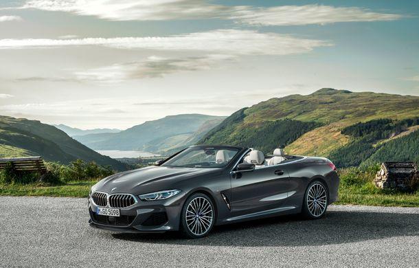 BMW Seria 8 Cabrio, poze și informații oficiale: motorizări de până la 530 CP și 15 secunde pentru plierea plafonului din material textil - Poza 7