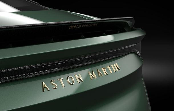 Aston Martin prezintă ediția specială DBS 59: 24 de exemplare bazate pe modelul DBS Superleggera cu 725 de cai putere - Poza 3
