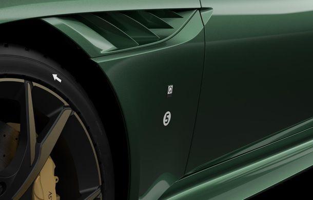 Aston Martin prezintă ediția specială DBS 59: 24 de exemplare bazate pe modelul DBS Superleggera cu 725 de cai putere - Poza 7