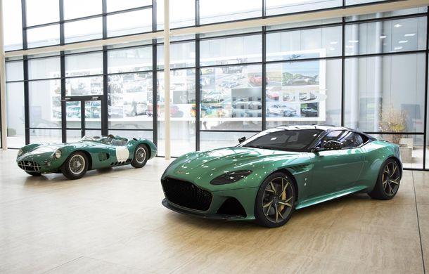 Aston Martin prezintă ediția specială DBS 59: 24 de exemplare bazate pe modelul DBS Superleggera cu 725 de cai putere - Poza 6
