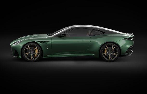 Aston Martin prezintă ediția specială DBS 59: 24 de exemplare bazate pe modelul DBS Superleggera cu 725 de cai putere - Poza 4