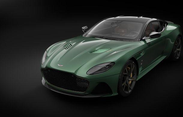 Aston Martin prezintă ediția specială DBS 59: 24 de exemplare bazate pe modelul DBS Superleggera cu 725 de cai putere - Poza 1