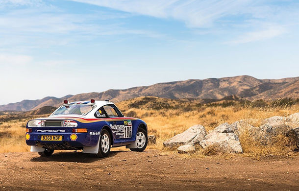 Un Porsche 959 care a concurat în Paris - Dakar 1985 a fost scos la licitație: modelul constructorului german a fost vândut cu peste 5 milioane de euro - Poza 3