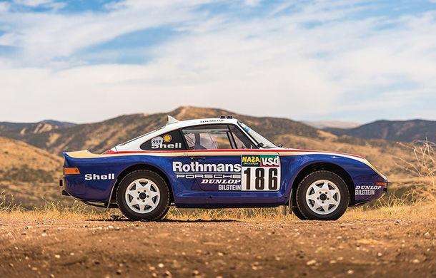 Un Porsche 959 care a concurat în Paris - Dakar 1985 a fost scos la licitație: modelul constructorului german a fost vândut cu peste 5 milioane de euro - Poza 2