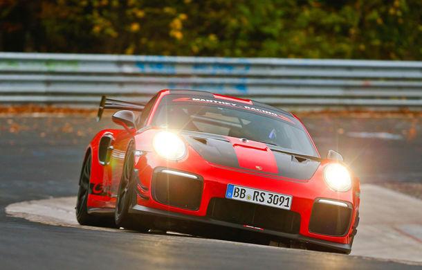 Porsche 911 GT2 RS MR a devenit cel mai rapid model de stradă de pe Nurburgring: modelul german a fost mai rapid decât Aventador SVJ cu aproape 5 secunde - Poza 1