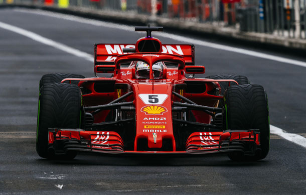"""Vettel: """"Ferrari nu a avut un monopost dominat la nicio cursă din 2018"""" - Poza 1"""
