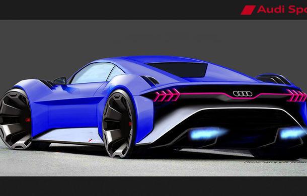 Inovație Audi: noul concept electric RSQ e-tron, prezentat exclusiv în filmul de animație Spies in Disguise - Poza 3