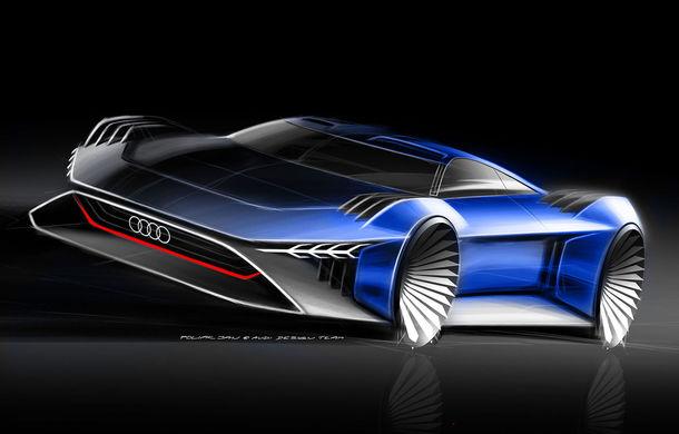 Inovație Audi: noul concept electric RSQ e-tron, prezentat exclusiv în filmul de animație Spies in Disguise - Poza 2