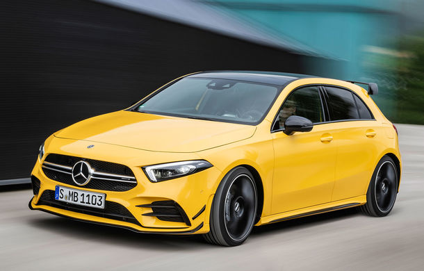 Prețuri pentru noul Mercedes-AMG A35: cel mai accesibil model din gama AMG pleacă de la 47.800 de euro - Poza 1