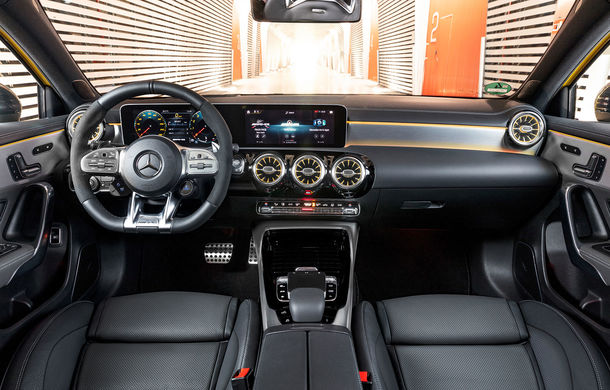 Prețuri pentru noul Mercedes-AMG A35: cel mai accesibil model din gama AMG pleacă de la 47.800 de euro - Poza 17