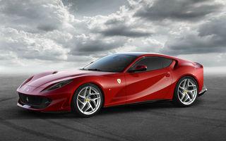 Ferrari a livrat peste 6.800 de unități în primele 9 luni: cerere în creștere pentru modelele Portofino și 812 Superfast