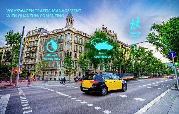 Volkswagen dezvoltă un sistem inteligent de management pentru traficul urban: primele teste vor avea loc la Barcelona - Poza 1