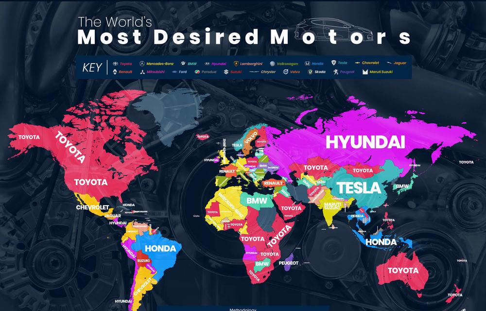 Cele mai căutate mărci auto pe Google: Volkswagen este lider în România, Toyota câștigă în cele mai multe țări - Poza 2
