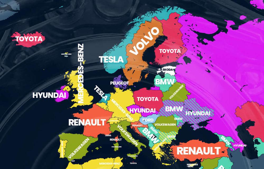 Cele mai căutate mărci auto pe Google: Volkswagen este lider în România, Toyota câștigă în cele mai multe țări - Poza 1