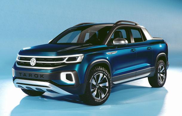 Volkswagen a prezentat noul concept Tarok: cutie automată și tracțiune integrală pentru pick-up-ul destinat pieței din Brazilia - Poza 1