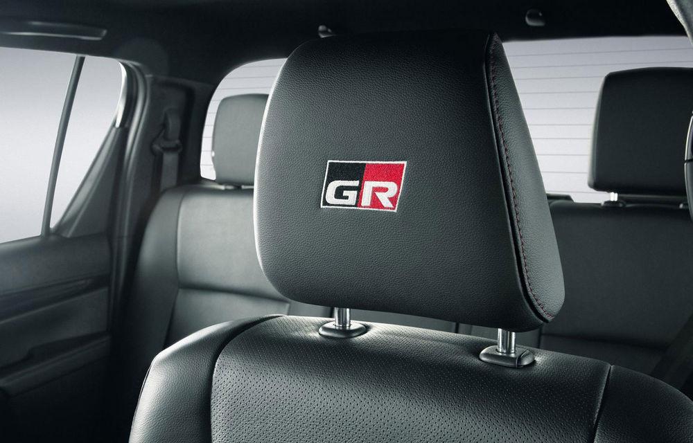 Toyota a prezentat noul Hilux GR Sport: ediția specială dedicată pieței din Brazilia va fi produsă în doar 420 de exemplare - Poza 4