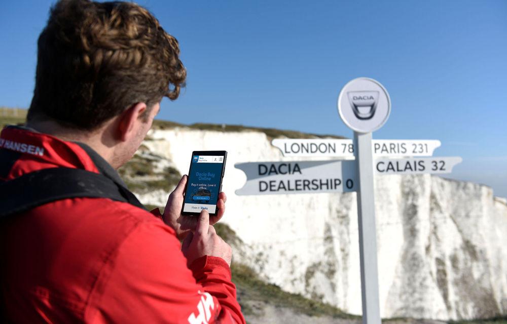 Dacia a lansat o platformă de vânzări online în Marea Britanie: clienții pot cumpăra orice model din gama constructorului - Poza 1