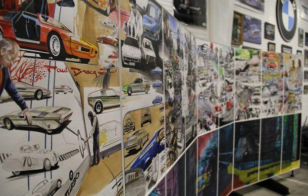 Istoria lui BMW M1, recreată prin picturi cu cafea de un artist român: instalația de artă a fost prezentată în premieră în SUA - Poza 13