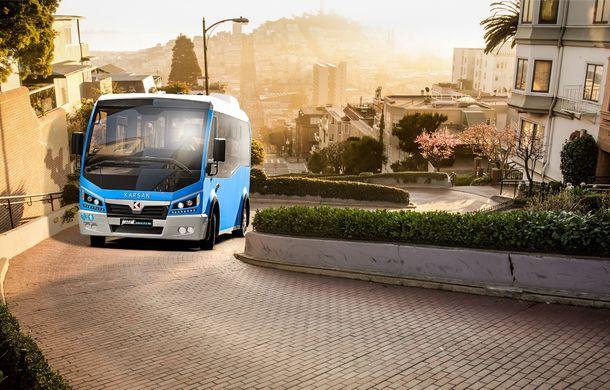 Autobuzul electric cu tehnologie de BMW i3: Karsan Jest Electric are autonomie de 210 kilometri și a primit comenzi inclusiv în România - Poza 4