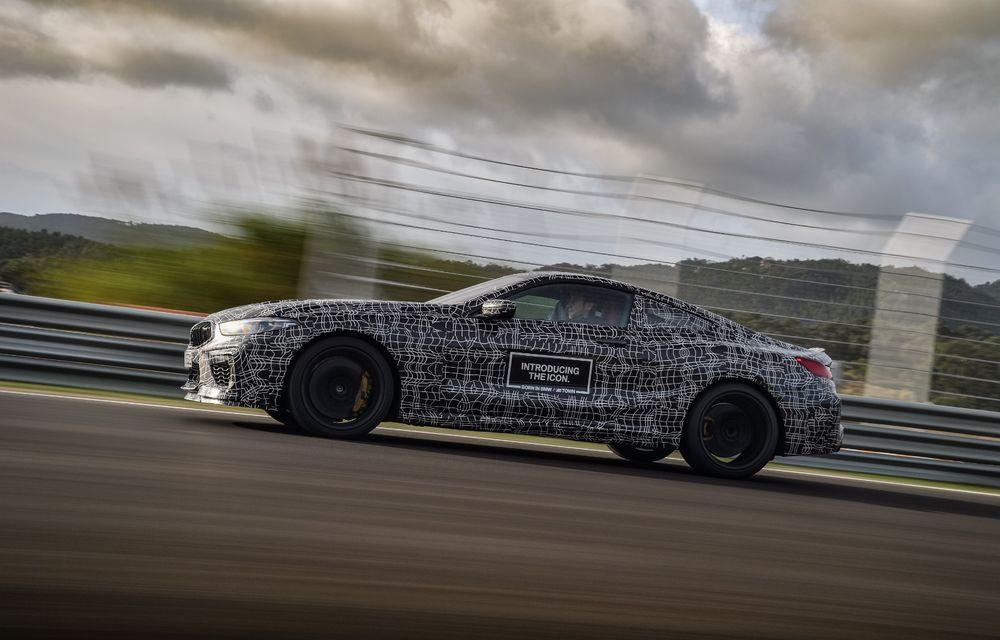 Primele imagini cu viitorul BMW M8 Coupe: motor V8 cu peste 600 CP și tracțiune integrală M xDrive - Poza 31