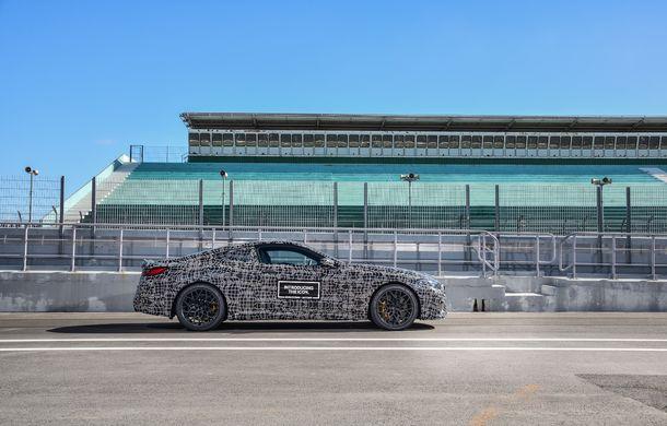 Primele imagini cu viitorul BMW M8 Coupe: motor V8 cu peste 600 CP și tracțiune integrală M xDrive - Poza 24