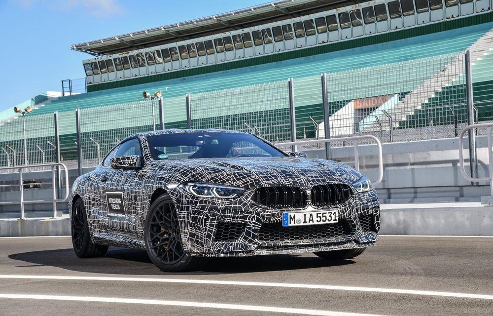 Primele imagini cu viitorul BMW M8 Coupe: motor V8 cu peste 600 CP și tracțiune integrală M xDrive - Poza 4