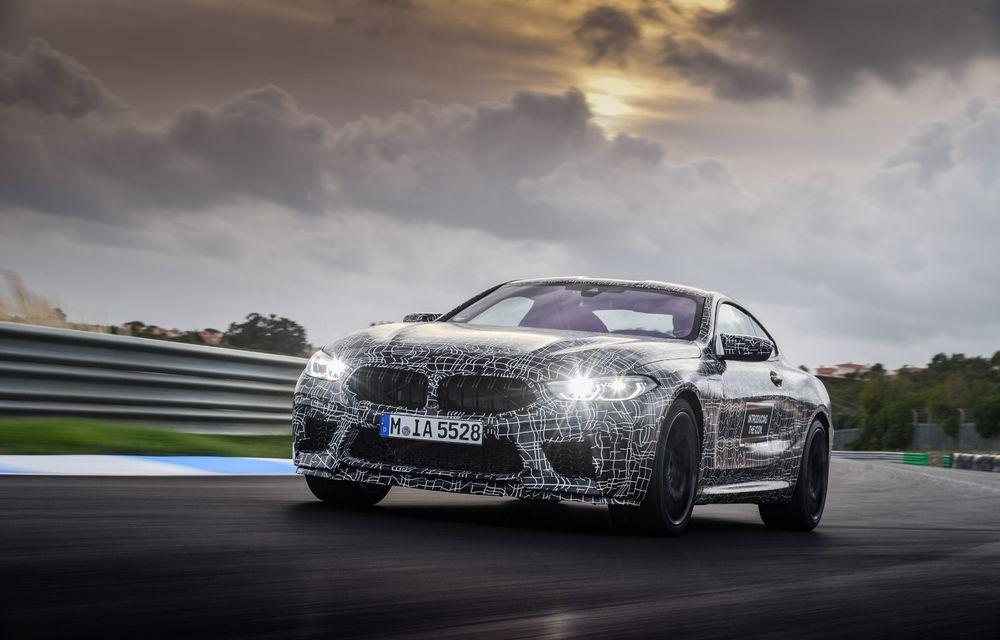 Primele imagini cu viitorul BMW M8 Coupe: motor V8 cu peste 600 CP și tracțiune integrală M xDrive - Poza 14
