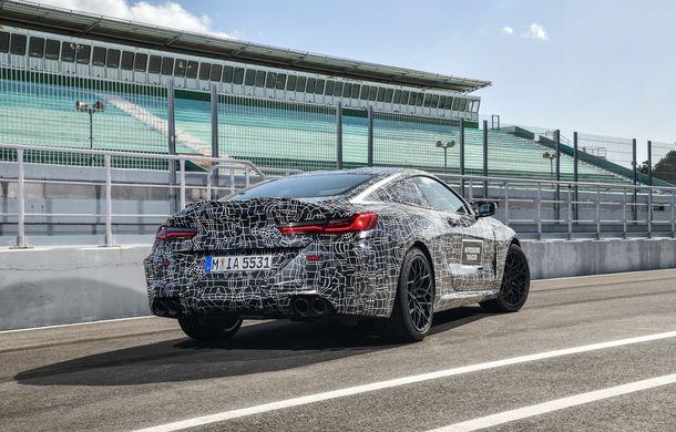 Primele imagini cu viitorul BMW M8 Coupe: motor V8 cu peste 600 CP și tracțiune integrală M xDrive - Poza 21