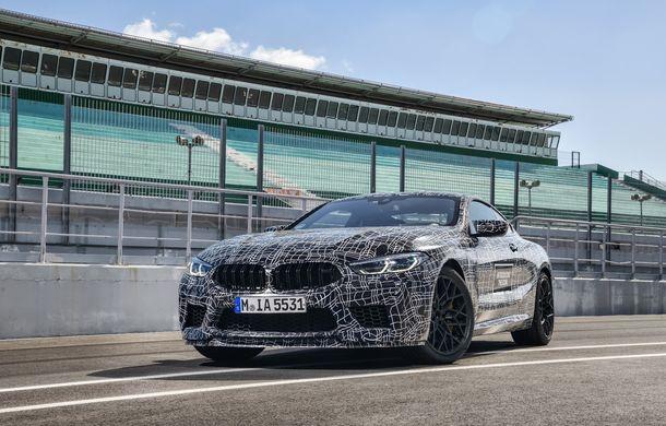 Primele imagini cu viitorul BMW M8 Coupe: motor V8 cu peste 600 CP și tracțiune integrală M xDrive - Poza 2