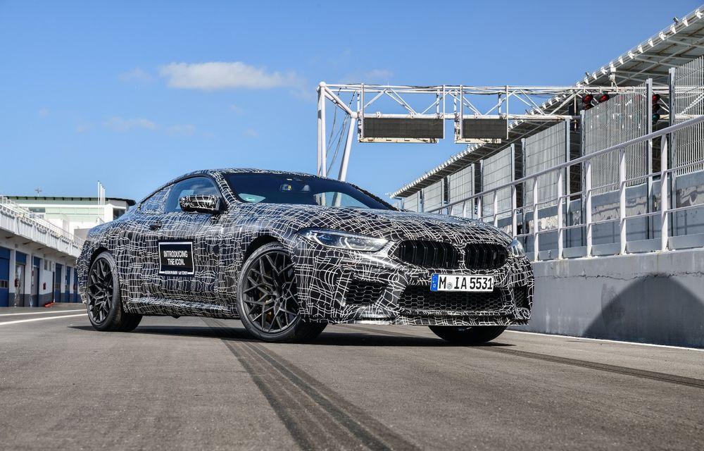 Primele imagini cu viitorul BMW M8 Coupe: motor V8 cu peste 600 CP și tracțiune integrală M xDrive - Poza 3