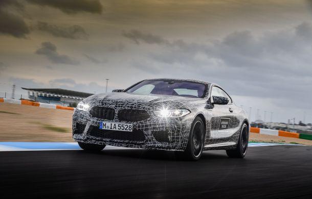 Primele imagini cu viitorul BMW M8 Coupe: motor V8 cu peste 600 CP și tracțiune integrală M xDrive - Poza 15
