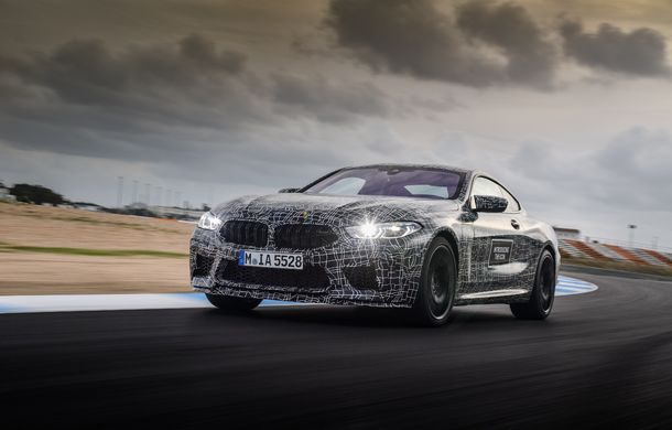 Primele imagini cu viitorul BMW M8 Coupe: motor V8 cu peste 600 CP și tracțiune integrală M xDrive - Poza 16