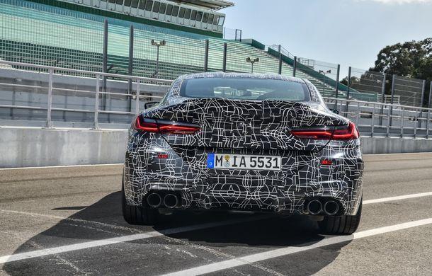 Primele imagini cu viitorul BMW M8 Coupe: motor V8 cu peste 600 CP și tracțiune integrală M xDrive - Poza 26