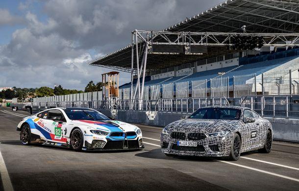 Primele imagini cu viitorul BMW M8 Coupe: motor V8 cu peste 600 CP și tracțiune integrală M xDrive - Poza 18