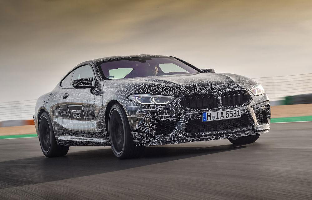 Primele imagini cu viitorul BMW M8 Coupe: motor V8 cu peste 600 CP și tracțiune integrală M xDrive - Poza 1
