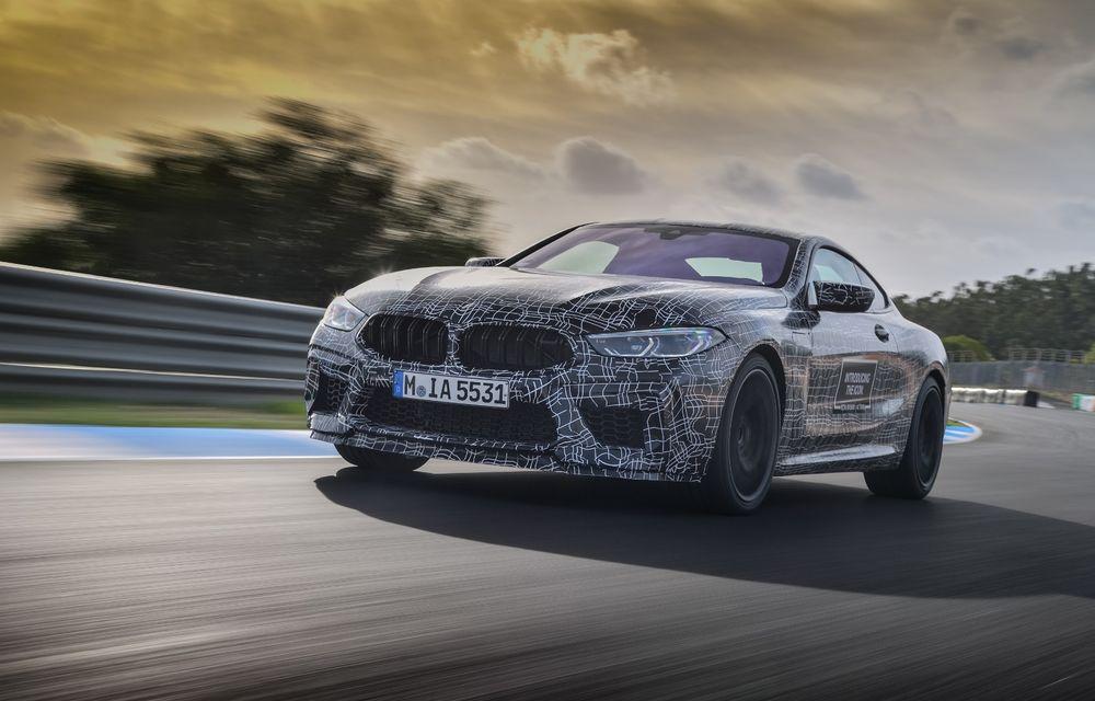 Primele imagini cu viitorul BMW M8 Coupe: motor V8 cu peste 600 CP și tracțiune integrală M xDrive - Poza 12