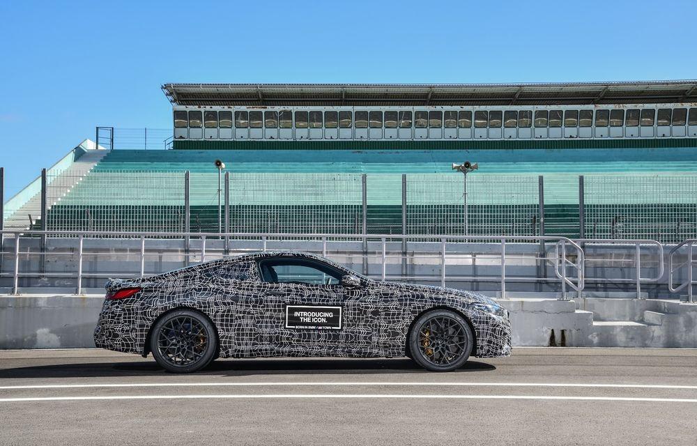 Primele imagini cu viitorul BMW M8 Coupe: motor V8 cu peste 600 CP și tracțiune integrală M xDrive - Poza 23