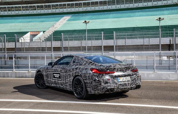 Primele imagini cu viitorul BMW M8 Coupe: motor V8 cu peste 600 CP și tracțiune integrală M xDrive - Poza 22