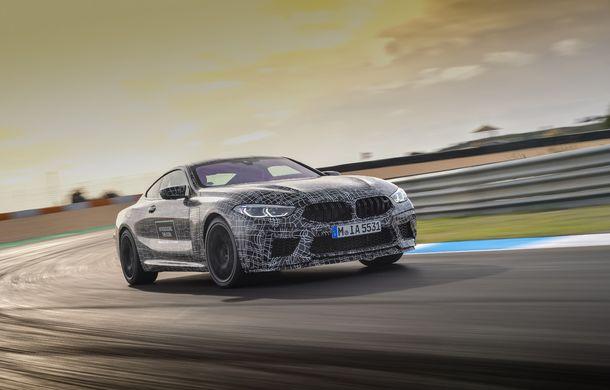 Primele imagini cu viitorul BMW M8 Coupe: motor V8 cu peste 600 CP și tracțiune integrală M xDrive - Poza 11