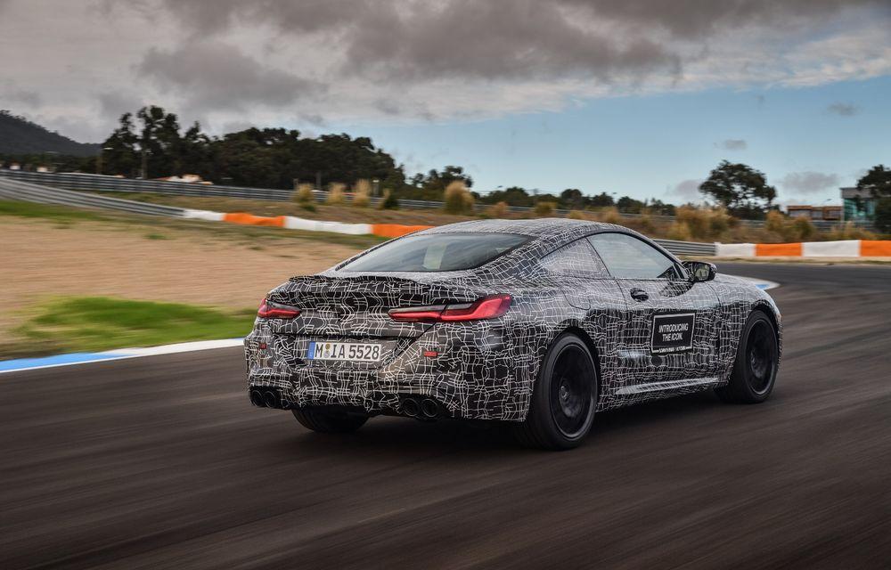 Primele imagini cu viitorul BMW M8 Coupe: motor V8 cu peste 600 CP și tracțiune integrală M xDrive - Poza 30
