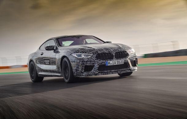 Primele imagini cu viitorul BMW M8 Coupe: motor V8 cu peste 600 CP și tracțiune integrală M xDrive - Poza 10
