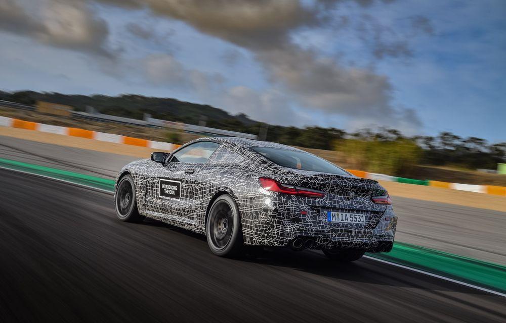 Primele imagini cu viitorul BMW M8 Coupe: motor V8 cu peste 600 CP și tracțiune integrală M xDrive - Poza 27