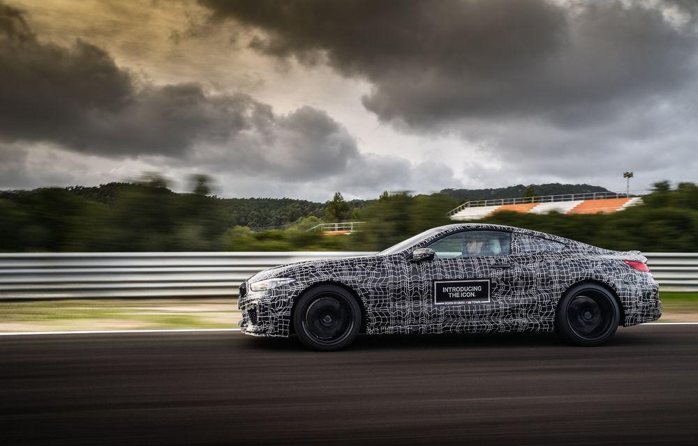 Primele imagini cu viitorul BMW M8 Coupe: motor V8 cu peste 600 CP și tracțiune integrală M xDrive - Poza 32