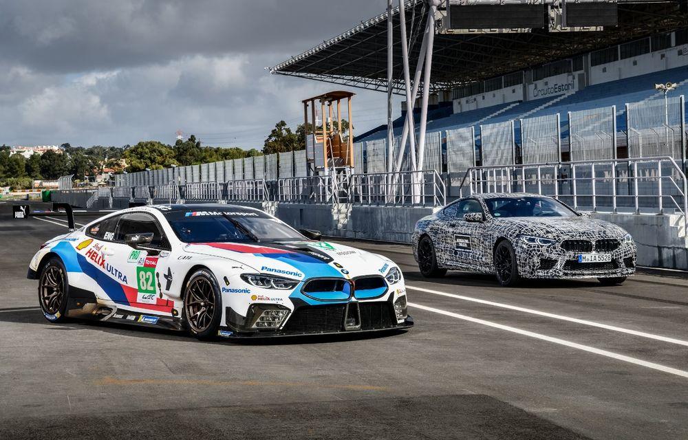 Primele imagini cu viitorul BMW M8 Coupe: motor V8 cu peste 600 CP și tracțiune integrală M xDrive - Poza 17