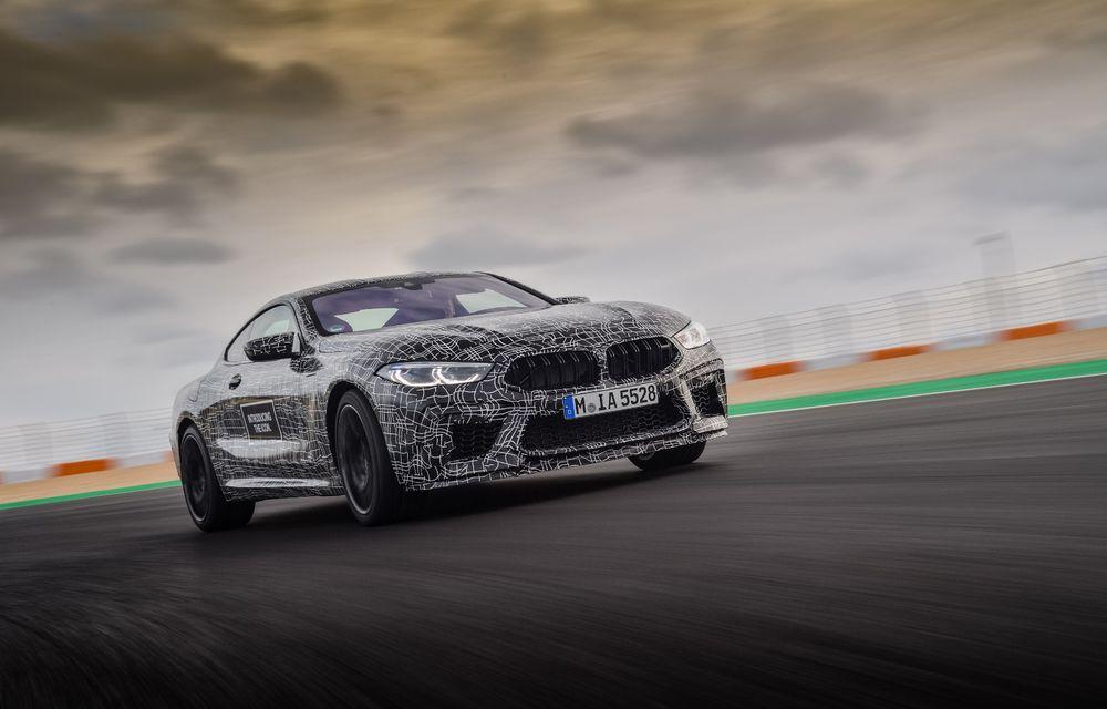 Primele imagini cu viitorul BMW M8 Coupe: motor V8 cu peste 600 CP și tracțiune integrală M xDrive - Poza 8