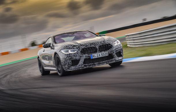 Primele imagini cu viitorul BMW M8 Coupe: motor V8 cu peste 600 CP și tracțiune integrală M xDrive - Poza 9