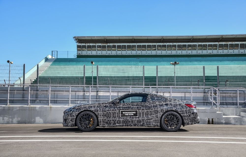 Primele imagini cu viitorul BMW M8 Coupe: motor V8 cu peste 600 CP și tracțiune integrală M xDrive - Poza 25
