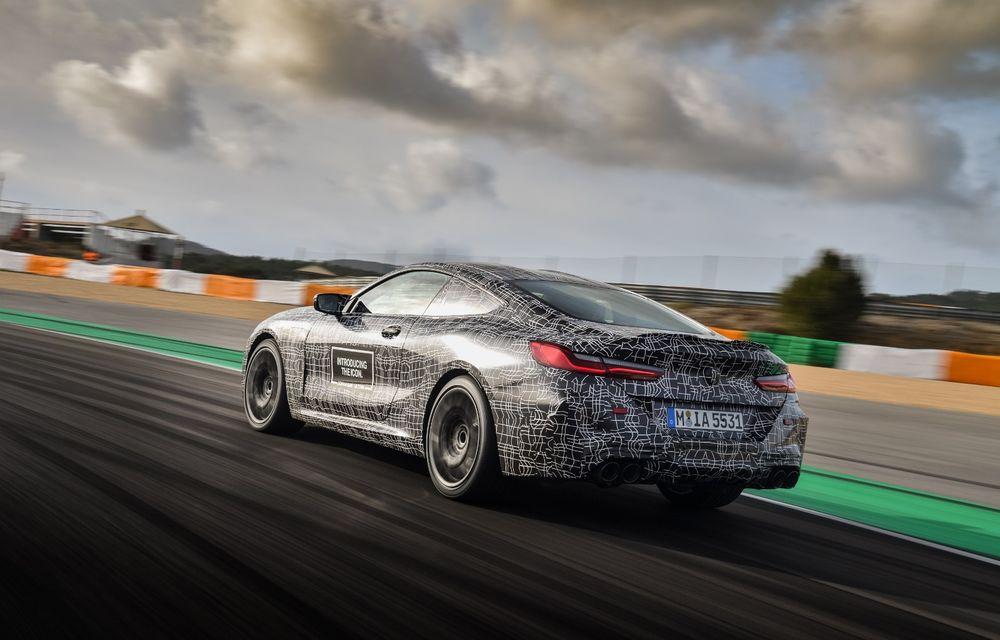 Primele imagini cu viitorul BMW M8 Coupe: motor V8 cu peste 600 CP și tracțiune integrală M xDrive - Poza 20