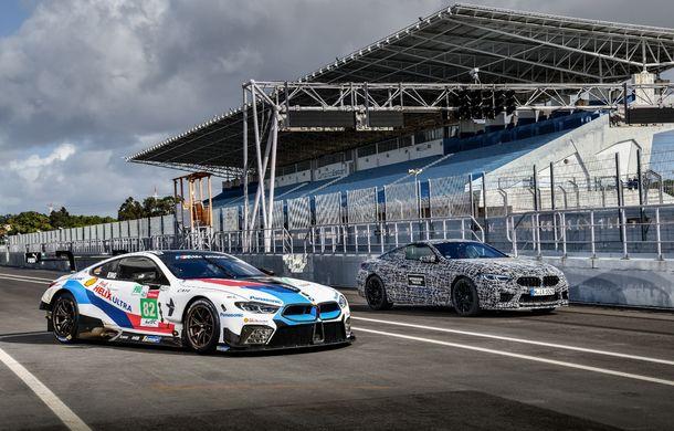 Primele imagini cu viitorul BMW M8 Coupe: motor V8 cu peste 600 CP și tracțiune integrală M xDrive - Poza 19