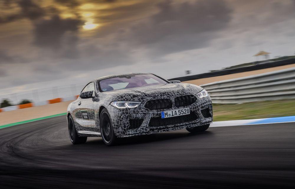 Primele imagini cu viitorul BMW M8 Coupe: motor V8 cu peste 600 CP și tracțiune integrală M xDrive - Poza 7